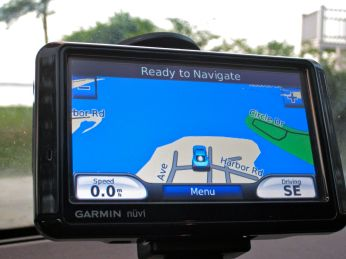 My Garmin Nuvi took my family on a ride getting to our vacation. Then, my iPhone Maps app actually got us there.