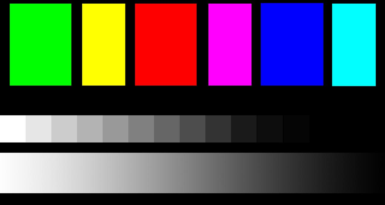 What Are These Six Colors Now Print Them If You Can