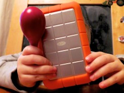 LaCie Rugged with Rattle