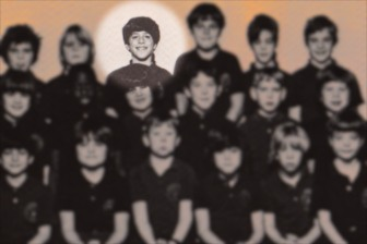 """Circa 1972. Boy Barrett thinks to himself, """"Hey, I've got a great idea… Forty one years from now, why don't I reconnect with all my friends from third grade?!"""""""