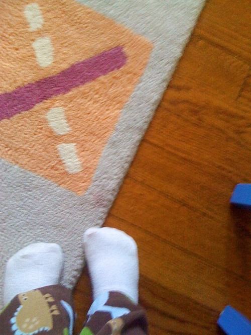 My Feet on My Rug