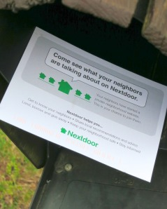 Nextdoor enters the neighborhood