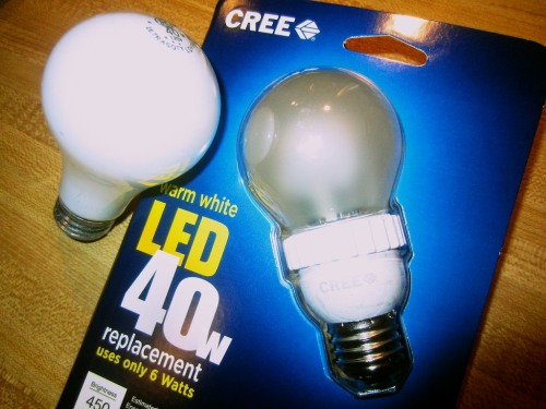 The new $5,000 LED bulb?  Not quite.  But that's the price you'll pay for bleeding-edge tech like Ultra HD. (And that's a bargain compared to the beginning of the year!)  The new Cree LED bulb just broke the $10 barrier.  Any takers?