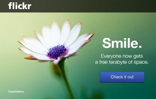 Whenever you receive an email about a 'change of service,' smiling is usually not your first reaction. That said, your friends from Flickr seem intent on giving you a tickle. The hard part is deciding how your left brain should respond.
