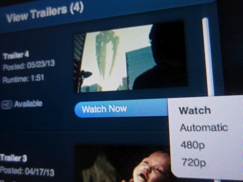If you like downloading your movie trailers, you're in big trouble. Apple is quietly removing this functionality from iTunes Movie Trailers. Now, it's streaming only!