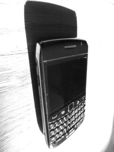 BlackBerry on the Floor