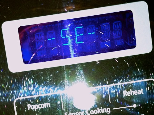 If your Samsung microwave oven is bleeping in distress and displaying the spooky 'SE' code, you're in trouble. Or are you? Your dead tech's life may rest in the hands of your phone skills…