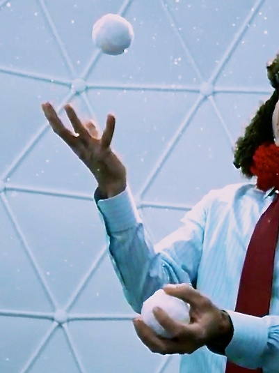 There are worse ways to spend 10 minutes than juggling in Google's Winter Wonderlab. Plus you get your very own YouTube video to share. But what can you do if you want to immortalize the memory?