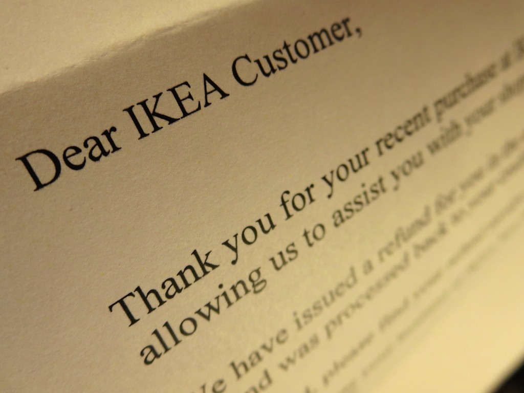 Beware Of Ikea Home Delivery At Home With Tech