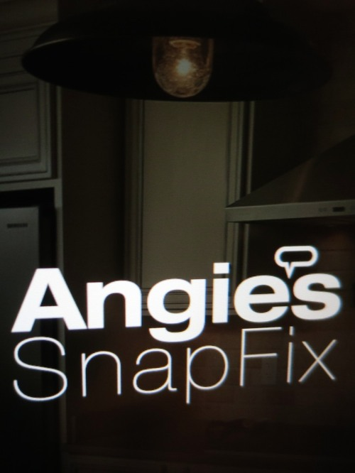 Do you need to do some repairs around your house?  Angie's List can make the process easier, and its mobile app SnapFix can find a service provider for your job, complete with cost estimate.  All you've got to do is sign on the dotted line.  But that last step may be harder than you'd think…