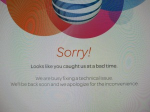 ATT is Sorry