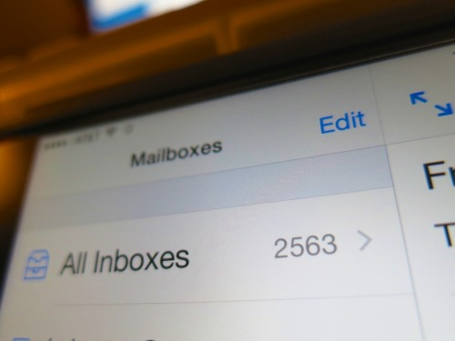 Who has the time to process an endless avalanche of incoming emails?  So a few are bound to fall through the cracks.  The question is what to do when an important one gets lost.