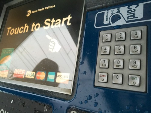 What should you do when 'Touch to Start' doesn't work?  You can either pay the premium ticket price on the train or figure out a workaround…