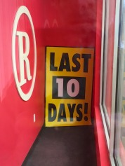 The end is near for this RadioShack store and many others. If you want to pay your respects, you'd better hurry…