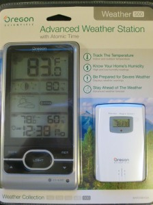 Oregon Scientific Weather Station 500