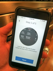 GE Kitchen App Step 1 of 5