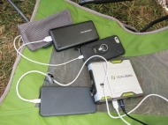 Breakfast for your tech while camping