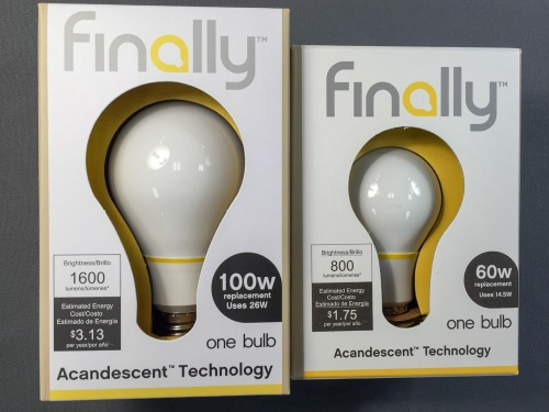 This new 'Finally' bulb promises to take you back to the future in a big way where LED bulbs have failed… finally. But is the LED bulb juggernaut already too far ahead?