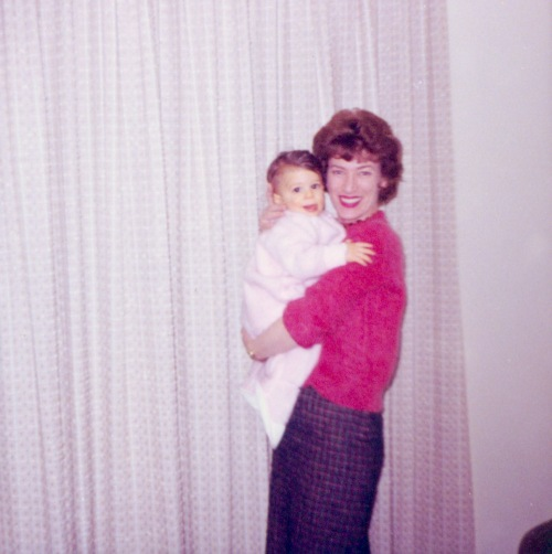 This is my mother and baby Barrett in 1963. A little less than seven years after this photo was taken, my mother would confront a parenting choice that would change my life forever…