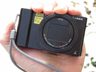 Panasonic Lumix LX10 in the palm of my hand