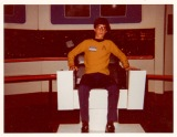 """I've been a Trekkie all of my life. Here's a photo of me as a teenager sitting in a replica U.S.S. Enterprise captain's chair at the 1976 New York City Star Trek Convention. Does this demonstration of core-level nerdiness qualify me decades later to offer my first impressions of """"Star Trek: Discovery"""" and """"The Orville?"""" You bet it does!"""