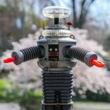 """I still have my toy 'Robot' from the original """"Lost in Space."""" So, you can imagine how excited I feel about Netflix reimagining the series. The big question I've tried to figure out is whether my second grader is old enough to watch it with me. If you're a parent with similar concerns, here's my take…"""