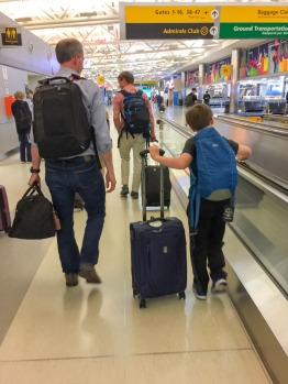 It wasn't exactly a traditional vacation, but when my son and I flew to Los Angeles to meet up with my wife, I took notes on which family activities my boy found especially appealing. Here are my findings…