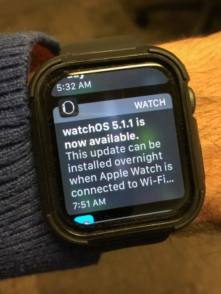 When your Apple Watch stops displaying sweet nothings about your potential and starts talking business, it's time for a software update. Here's how…