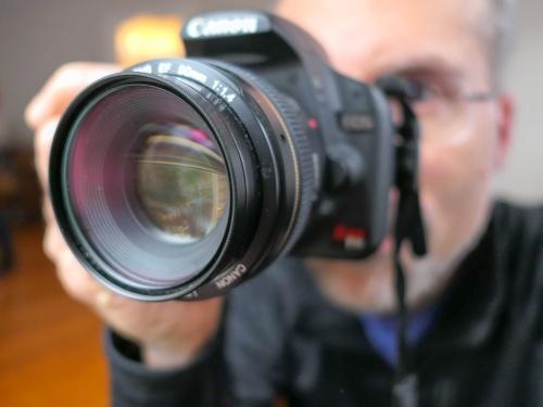 Taking a DSLR Photo